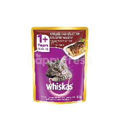 Whiskas Pouch Cat Wet Food Adult Grilled Saba 85G Cat Food