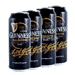 Guinness Bir Hitam Extra Stout 4 Pcs x 500ml