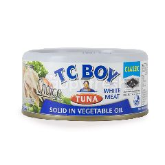 Tc Boy Tuna Solid In Vegetable Oil