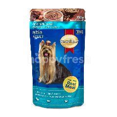 สมาร์ทฮาร์ท เนื้อไก่และตับในเยลลี่ สุนัขโต