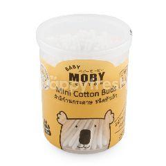 เบบี้ โมบี้ สำลีก้านกระดาษ ชนิดหัวเล็ก