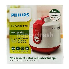 Philips Penanak Nasi Daily Collection HD3119 Merah