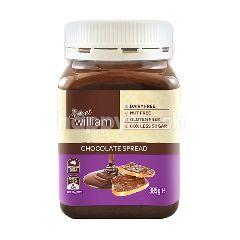 สวีทวิลเลียม สวีท วิลเลี่ยม ช็อกโกแลตสเปรด สำหรับทาขนมปัง 385 กรัม