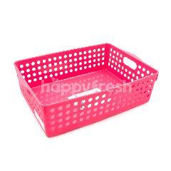 Claris Keranjang Portable  Pink