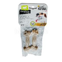 Ferplast Good Bite Lamb Flavour Dog Snack In Bone Shape (40gx2)
