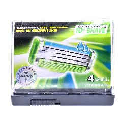 Gillette Mach3 Sensitive Blades (4 Pieces)