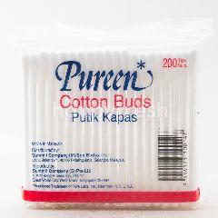 Pureen Cotton Buds Polybag 200s