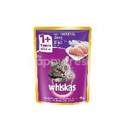 Whiskas Pouch Cat Wet Food Adult Fresh Fish Mackerel 85G Cat Food
