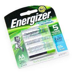 Energizer Recharge Universal Nimh Batteries AA