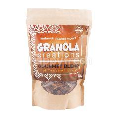Granola Creations Gourmet Blend Authentic Toasted Muesli Cokelat Hitam & Pisang