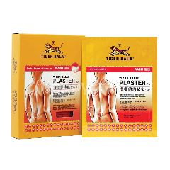 Tiger Balm Plaster (Warm) Large (2 Pieces x 6 Packs)