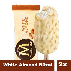 Wall's Magnum Es Krim Rasa White Almond 80ml