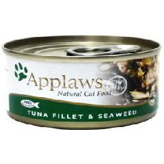Applaws (Cat) Tin Tuna Fillet With Seaweed 156g