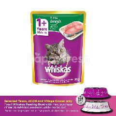 Whiskas Pouch Cat Wet Food Adult Fresh Fish Tuna 85G Cat Food
