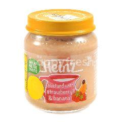 Heinz Custard dengan Stroberi dan Pisang 1-5 Tahun