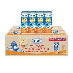 ไฮ-คิว 1 พลัส ยูเอชที พรีไบโอโพรเทก กลิ่นน้ำผึ้ง 180 มล. (แพ็ค 36)