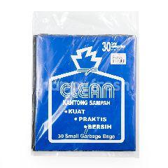 Clean Kantong Sampah Hitam Kecil 43cm x 51cm