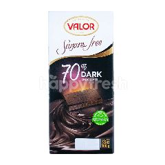 Valor Dark Chocolate 70% - Sugasr Free