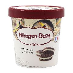 Haagen-Dazs Cookies & Cream Ice Cream