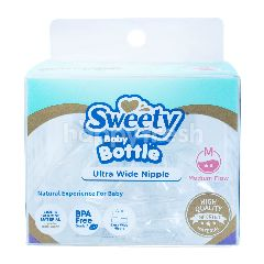 Sweety Botol Bayi Ultra Wide Nipple