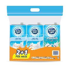 Dutch Lady Value Pack 2+1 Milk (3s)