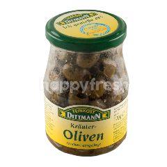 Feinkost Dittmann Krauter Oliven Grun Ohne