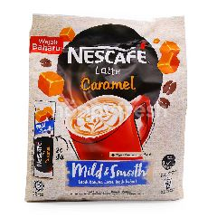 Nescafé Mild & Smooth Latte Caramel Premix Coffee (20 Sticks)