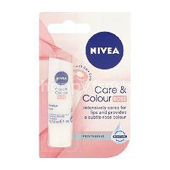 Nivea Care And Colour Rose Lip Balm