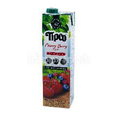 ทิปโก้ น้ำเชอร์รี่ เบอร์รี่ ผสมน้ำองุ่น 100% 1 ลิตร