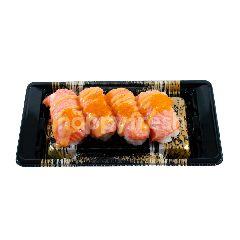 Aeon Set Sushi Salmon Aburi Mayo