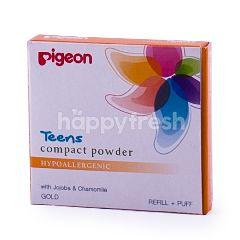 Pigeon Bedak Padat Remaja Hypoallergenic Gold