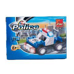 Pis Aneka Mobil Polisi Mini