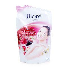 Biore Sabun Badan Foam Cherry Chocoberry