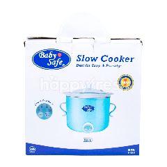 Baby Safe Slow Cooker 800ml untuk Sup dan Bubur