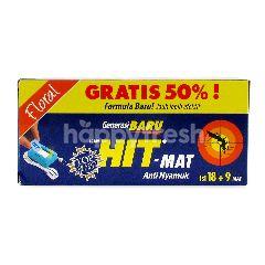 Hit-Mat Anti Nyamuk Floral 49mv