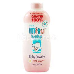 Mitu Bedak Bayi Warna Biru