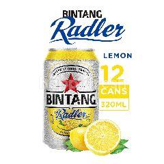 Bintang Radler Bir & Lemon (12 x 320ml)