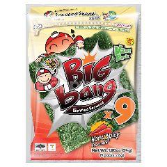 Tao Kae Noi Big Bang Grilled Seaweed Hot & Spicy Value Pack