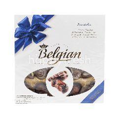 Belgian Cokelat Bentuk Kerang