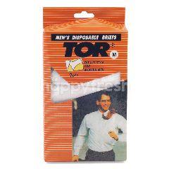 TOR Celana Dalam Pria Sekali Pakai Ukuran M