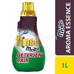 Rinso plus Molto Deterjen Cair Advance Foam