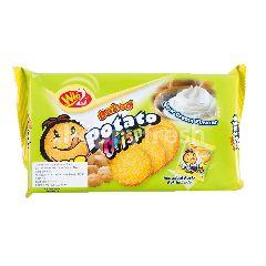 Win2 Baked Potato Crips Sour Cream Flavor