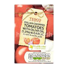 Tesco Italian Chopped Tomatoes With Olive Oil & Garlic