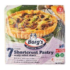 Borg's Frozen Shortcrust Pastry (7 Sheets)