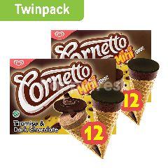 Wall's Cornetto Mini Tiramisu & Dark Choco