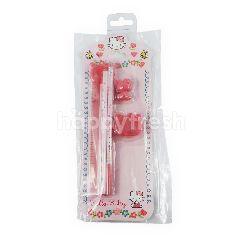 Sanrio Paket Alat Tulis Hello Kitty Mini Stationeries Set