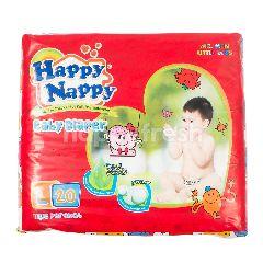Happy Nappy Popok Bayi Tipe Perekat L