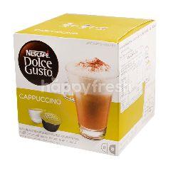 เนสกาแฟ ดอลเซ่กุสโต้ กาแฟปรุงรสสำเร็จรูป คาปูชิโน่ 186.4 กรัม (8+8 แคปซูล)