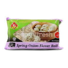 Kg Pastry Spring Onion Flower Roll (8 Pieces)
