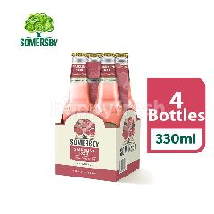 Somersby Sparkling Rose Cider Bottle (330ml x 4)